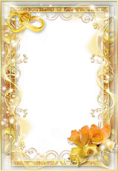 100 marcos para tus fotos de boda gratis para descargar for Marcos de fotos dorados
