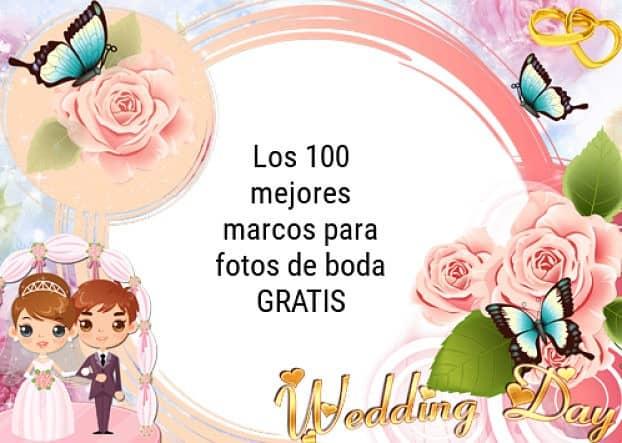 Marcos para bodas originales