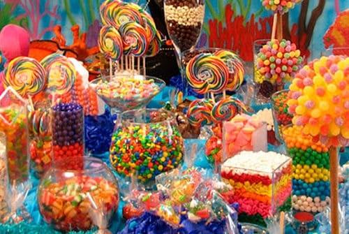 Mesa chuches multicolor