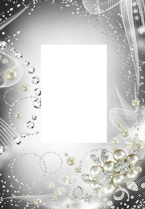 Perlas y brillantes para fotos