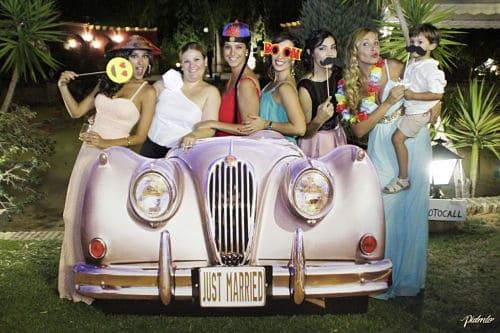 Photocall original para boda 3