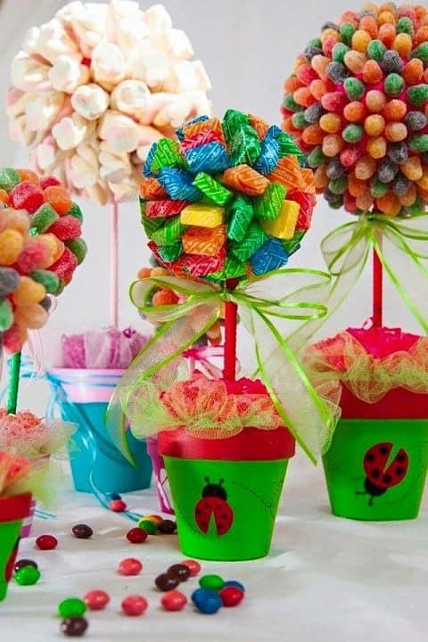 Plantas chuches de colores