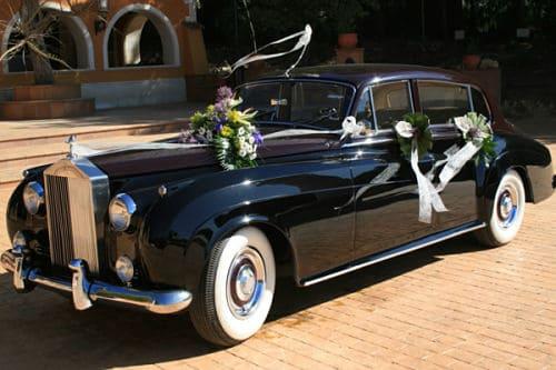 Rolls Royce Silver Cloud para boda