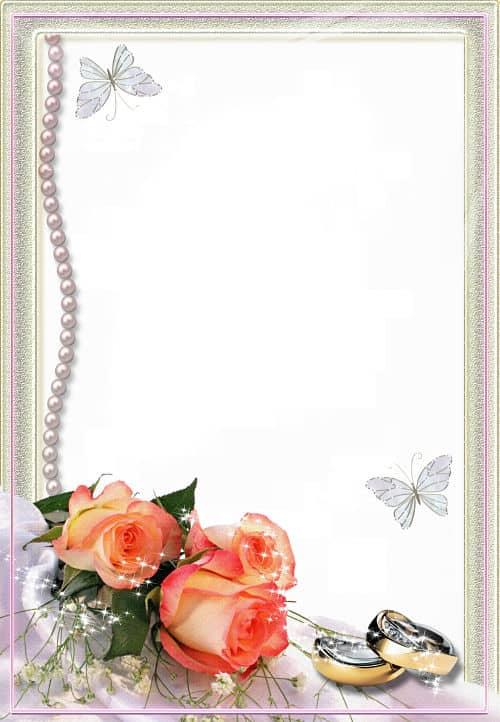 Rosas melocotón perlas