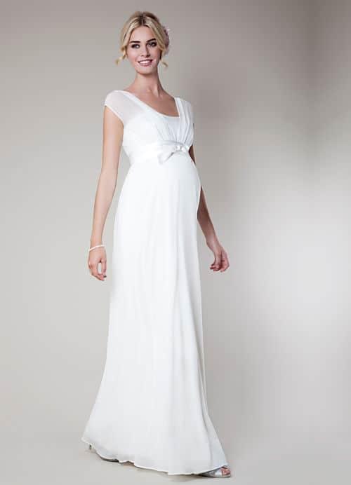 Fotos de vestidos de novias para embarazadas