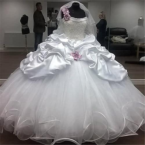 Vestido para novia gitana
