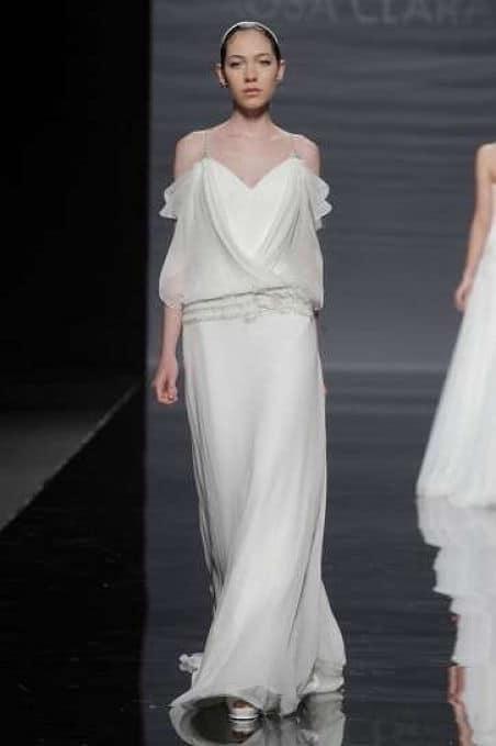 Vestido novia vintage estilo años 20