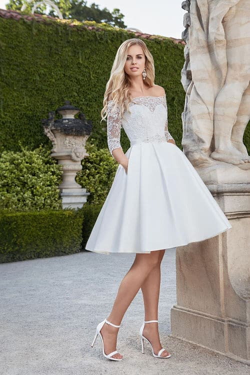 Vestidos de novia sencillos precios