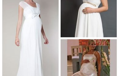 Vestidos novia para embarazadas