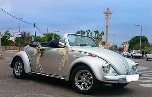 Volkswagen Escarabajo para boda