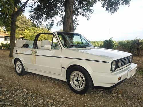 Volkswagen Golf Cabrio para boda