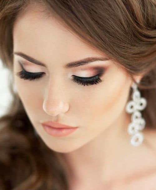 Ahumado de ojos para novia de día