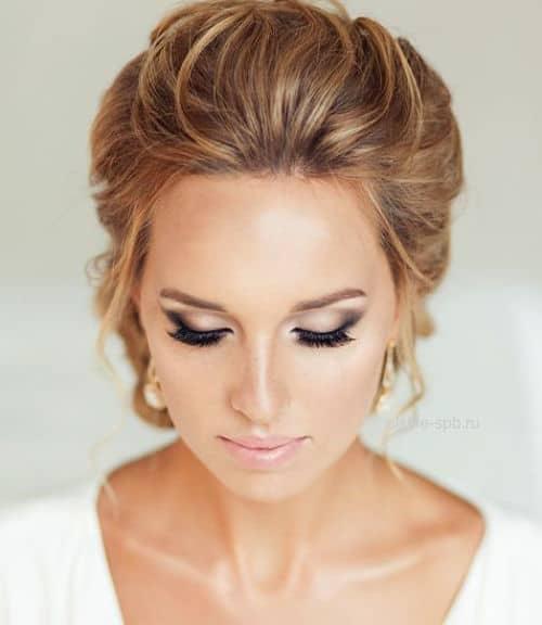 Base de maquillaje natural para novia