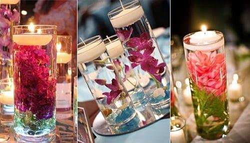 Centros de mesa para boda DIY