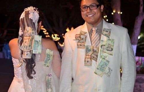 El baile del billete en México