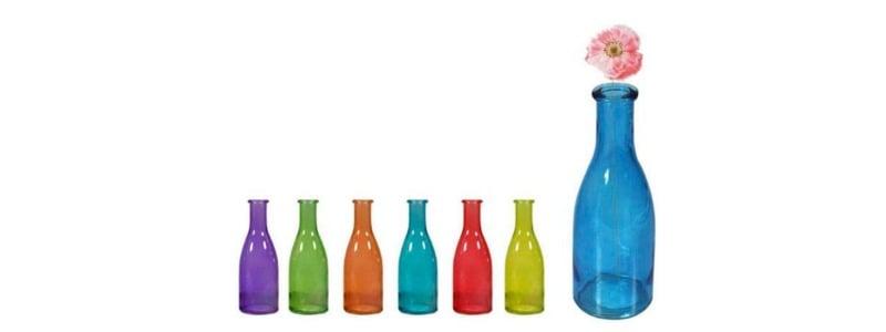 jarrón de colores