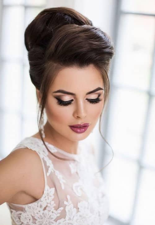 Maquillaje de novia con personalidad