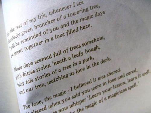 Poema para leer en boda civil