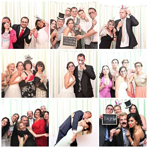 Recuerdos de un fotomatón para boda