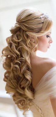 Peinados para novias en una boda