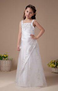 Vestido de dama de honor blanco