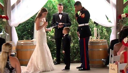 Votos matrimoniales en boda civil