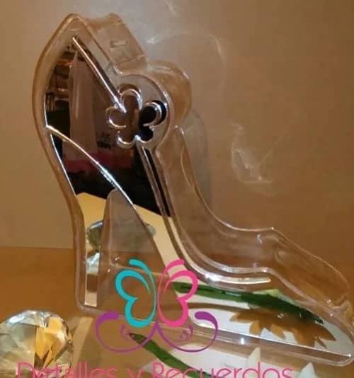 Zapatilla boda portasobres