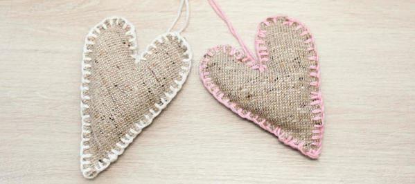 corazones de lino