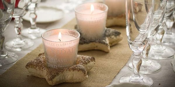 decorar mesa con lino