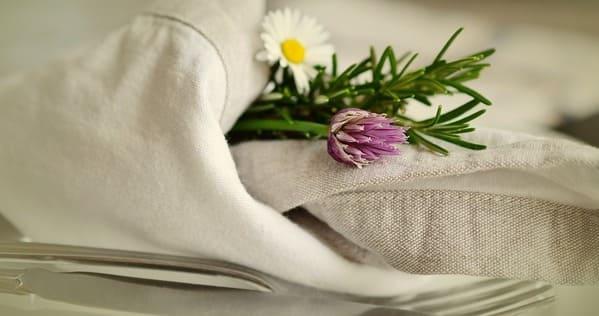 servilletas de algodon