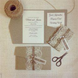 Invitación de boda vintage 21
