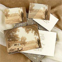 Invitación de boda vintage 24