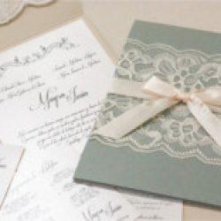 Invitación de boda vintage 9