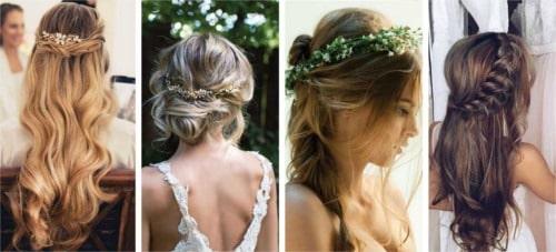 Peinados para novia vintage