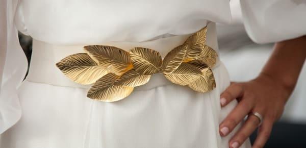 cinturones de novia