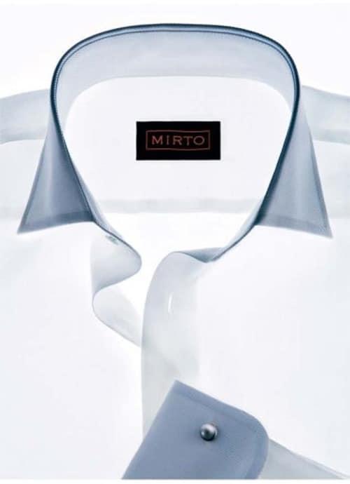 Camisa para chaqué de novio