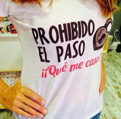 Camiseta de fiesta despedida de soltera