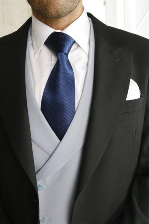 Corbata para chaqué de novio