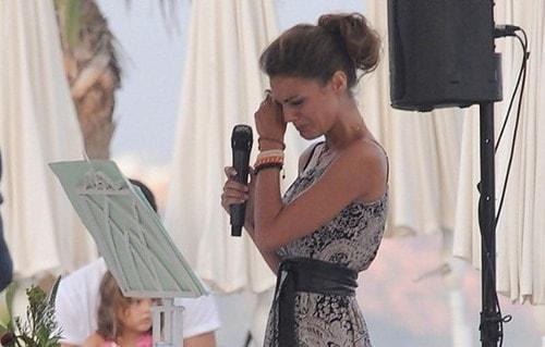 Emotivo discurso de boda de una invitada