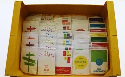 Etiquetas para los kits supervivencia para bodas