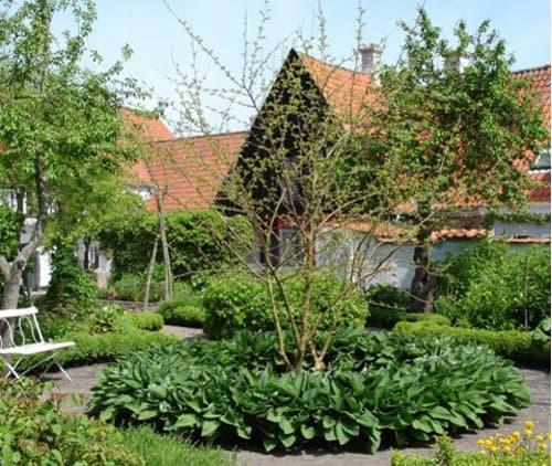 Jardines en isla de Aeroe