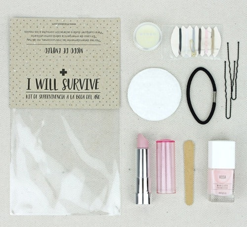 Kit supervivencia para bodas 1