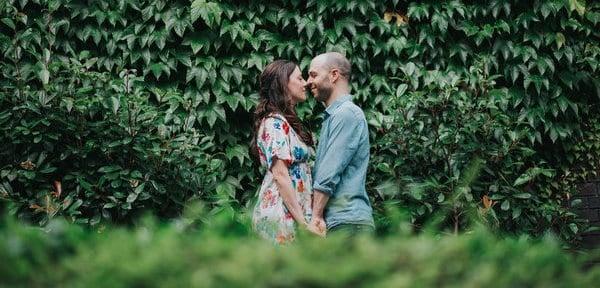 celebrar las bodas de hiedra