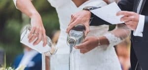 ritual de agua boda