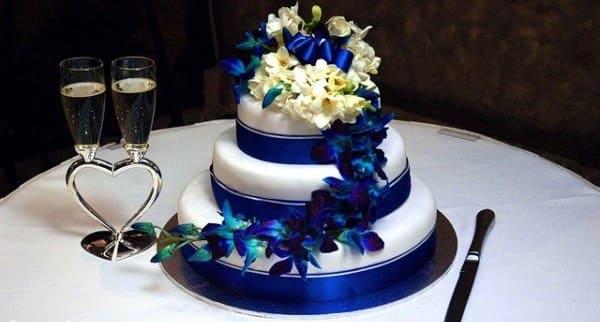 decoracion bodas de zafiro