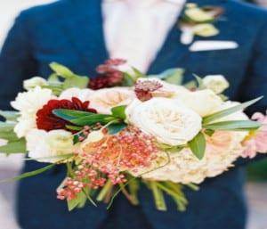 ramos de bodas con frutas