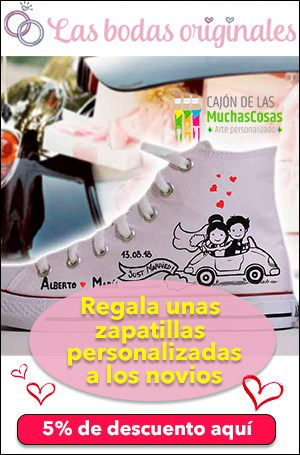 zapatillas personalizadas para novios