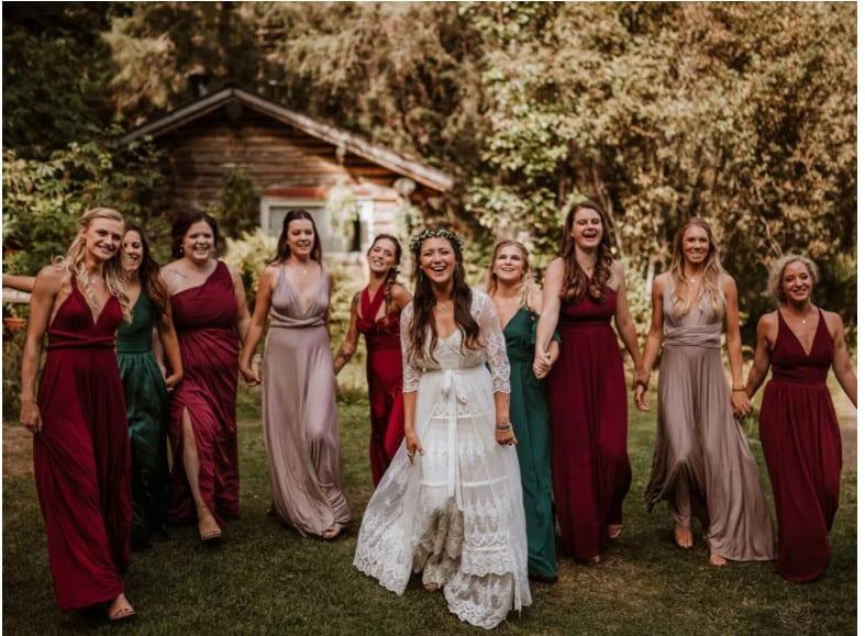 combinaciones de colores para boda
