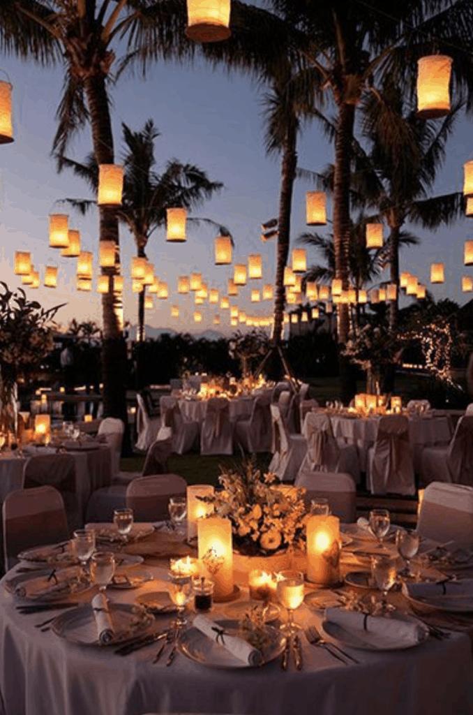 boda en la naturaleza