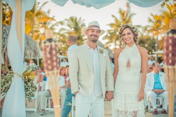 colores para bodas en la playa